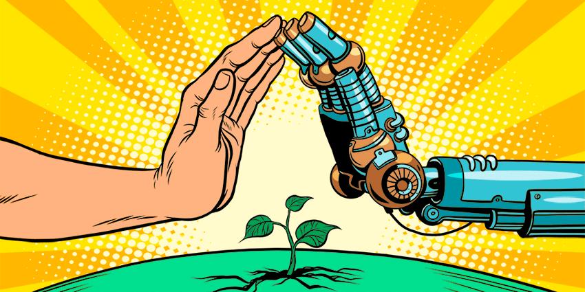 Protección integral de cultivos, donde el el hombre y la tecnología se encuentran.